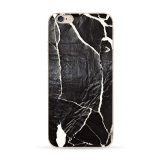 Cubierta de piedra de mármol del teléfono celular para el iPhone