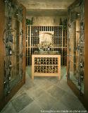 Тип сбор винограда шикарный подгоняет деревянный винный погреб погреб для домашней мебели