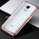 Caso suave Electroplated del color multi TPU para el honor 5c de Huawei