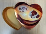 Rectángulo de empaquetado del chocolate de la almendra garapiñada de la barra del caramelo del papel del chocolate hecho a mano de encargo de lujo de lujo del regalo
