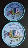 Customerized Fisch-Entwurfs-Förderung-Kennsatz gesponnenes Abzeichen