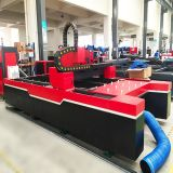 Laser-Metallstahlausschnitt-Gravierfräsmaschine der Faser-500W (TQL-LCY620-3015)