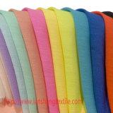 Tela química da tela da cortina do Spandex da tela do poliéster para a matéria têxtil do vestuário do vestido cheio