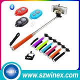 Портативное Mini Bluetooth Selfie Stick Extendable  with Bluetooth Кнопка штарки