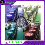 Equipo para DJ 54X3W LED PAR Can para uso en interiores