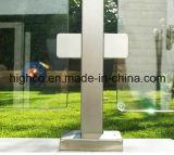 ステンレス鋼の手すりおよび手すりのための正方形のガラスクランプ