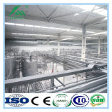 自動無菌Uhtの牛乳生産ライン