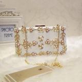 最も新しいデザイン真珠のハンドバッグの女性の女性のためのEb794鎖が付いている豪華な均等になるClucth袋