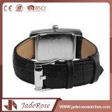 Kundenspezifische Fabrik-Mädchen-Quarz-Leder-Uhr