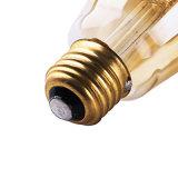 2W 호박색 St64 LED Edison 필라멘트 전구