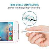 Câble de remplissage durable et rapide du câble de foudre d'Anker Powerline+ (3FT) [double nylon tressé] pour l'iPhone, l'iPad et plus de câble d'iPhone (de blanc)