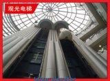 Motor Gearless com elevador panorâmico do elevador do controle de Vvvf