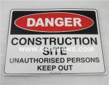 Segni esterni portatili dell'oscillazione di sicurezza del luogo dei lavori di costruzione di disciplina del traffico dell'OEM di Optraffic, basamento dell'oscillazione, segni del bordo inscatolato