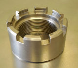 Componentes feitos à máquina para válvulas e as bombas industriais