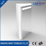 Gabinete moderno Anti-Fog do espelho do diodo emissor de luz do banheiro da liga de alumínio