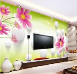 Muurschilderingen van de van achtergrond TV van de Woonkamer van de douane het Goedkope Mooie Behang van de Muur