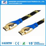 Het Mannetje van de Kabel HDMI aan Mannelijke Goud Geplateerde 1.4V/1080P3d voor Computer