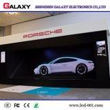 Étape d'intérieur, côtés, la publicité du panneau-réclame visuel de mur de l'Afficheur LED P2/P2.5/P3/P4/P5/P6 fixe