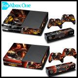 Etiqueta de la piel del vinilo de la cubierta protectora para Microsoft xBox una consola del juego