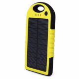 Mobile Solar Charger Pocket Power Bank impermeável e à prova de pó Shock Proof OEM Model