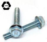 Flansch-Schraube des Lieferanten-Kohlenstoffstahl-DIN6921 des Grad-4.8/8.8 des Zink-/Black/HDG M11