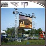 auf Verkauf LED-Bildschirmanzeige-AluminiumTorpfosten-Binder