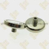 D75mm de Permanente Magneet van de Pot met Aangepaste Nagel