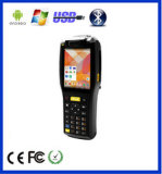 terminal androïde raboteux du collecteur PDA de la donnée d'imprimante du scanner 3G tenu dans la main (zkc3505)