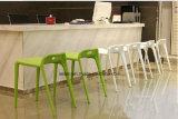 Stapelbares Plastikpferden-niedriger rückseitiger speisender Stuhl (LL-0056)