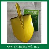Shovel Railway Steel Golden Color Shovel Spade