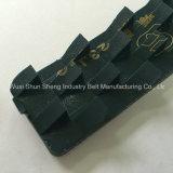 La bande de conveyeur de PVC de prix usine pour le granit avec a vu la dent