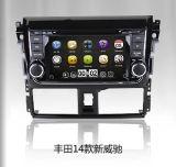 Núcleo 2014 do quadrilátero de Vois do Wince 6.0 com o rádio estereofónico do carro da ligação do espelho do iPod RDS da tevê de DVD 3G para Toyota