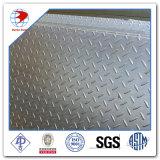 Plaque à damier en acier inoxydable Ss304 8mmx1.5mx3m
