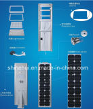 Wasserdichtes Integrated LED Integrated LED Solar Street Light mit CER