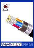 XLPEの絶縁体PVC外装の制御ケーブル
