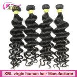 Человеческие волосы девственницы свободного тела химиката свободно бразильские