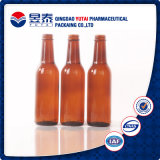 Brown Beverage Glass Bottle pour Juice