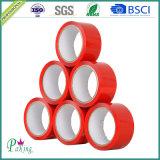 Nastro adesivo dell'imballaggio di colore rosso BOPP dell'OEM