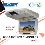 Suoer Fabriek Prijs Monitor van de Auto van de 9 LEIDENE van het Dak van de Duim LCD Monitor 12V de Opgezette (SE-9012)