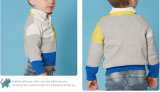가을 V 목 단 하나 Breasted 긴 소매 아기 스웨터