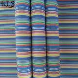 衣服ワイシャツまたは服Rls60-14poのための綿の縞のポプリンによって編まれるヤーンによって染められるファブリック