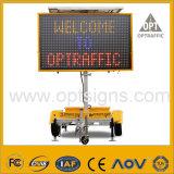 En12966 toont de Controle van het Verkeer Vms de Veranderlijke Aanhangwagen van het Teken van het Bericht