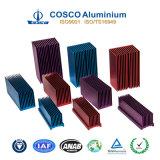 De douane Geanodiseerde Radiator/Heatsink van het Aluminium met Verklaarde ISO9001