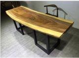 단단한 자단, +Iron 다리 행정실 &Writing 테이블 (WD005)