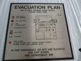 부동산 건물 신원 예의 도표 디렉토리 표시
