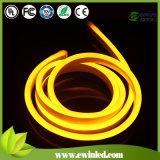 Luz amarilla de la cuerda de neón del LED del limón con el DIP 80LEDs / M