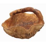절묘한 나무로 되는 루트 큰 과일 바구니