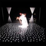 Профессиональная танцевальная площадка света звезды света 3D этапа взаимодействующая