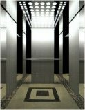 O espelho do ouro da alta qualidade do elevador do elevador do passageiro gravou Aksen Ty-K164