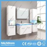 La luz LED caliente interruptor del tacto de alto brillo de la pintura moderna de baño Gabinete-B801d